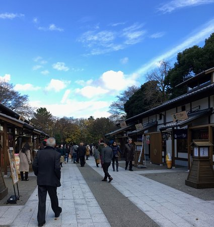 Misokatsu Yabaton Nagoya Castle Kinsatchi Yokocho: 金シャチ横丁から矢場とん方向