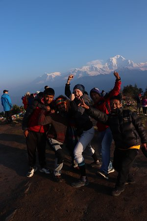 Dal Bhat Power Adventures : We are on Poon Hill