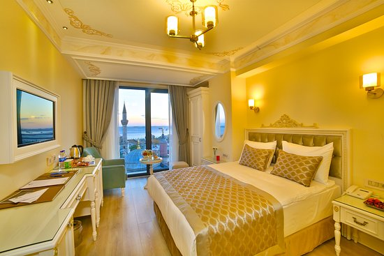 Yilsam Sultanahmet Hotel: double room / for two person / Historical and sea view