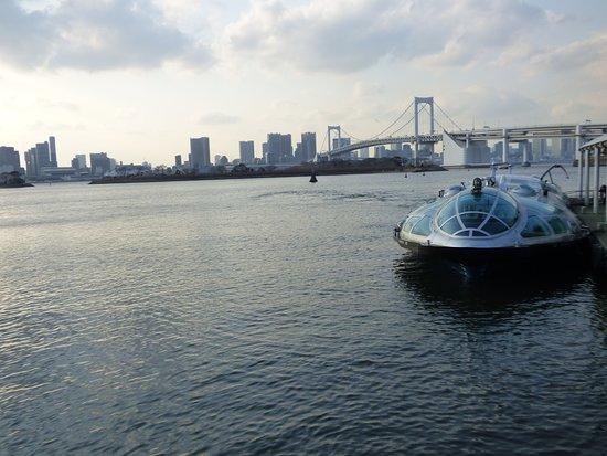 Vista desde Odaiba