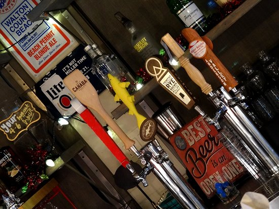 The Boot at The Grove: Lots of craft beer offerings