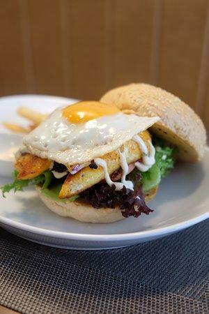 Masala Fish Burger