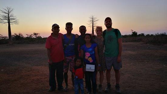 Tsingy de Bemaraha National Park, Madagascar: With Jaca, Fetra, Emile and his family