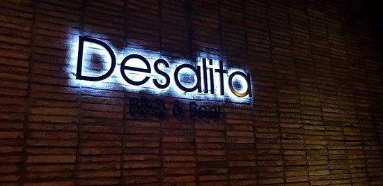 BBQ & Beer De Salita: Cartel del restaurante