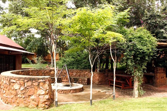 Braai and Boma area for Family and friend gatherings