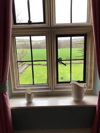 Llyswen, UK: View from bathroom