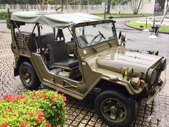 Hue Adventures - Motorbike & Jeep Tours : The Jeep used