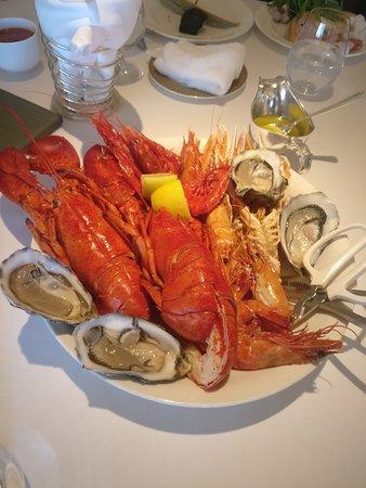 Nicholini's, Conrad Hong Kong: Seafood platter