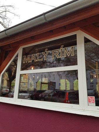 Maly Rim Restaurant along riverbank