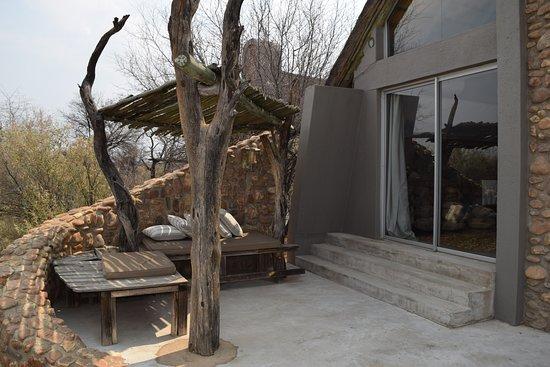 Naankuse Lodge and Wildlife Sanctuary: Terrasse