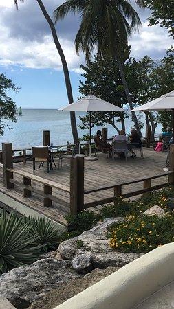Hilton La Romana, An All-Inclusive Family Resort: Deck pour petit déjeuner ou déjeuner (Préferred)