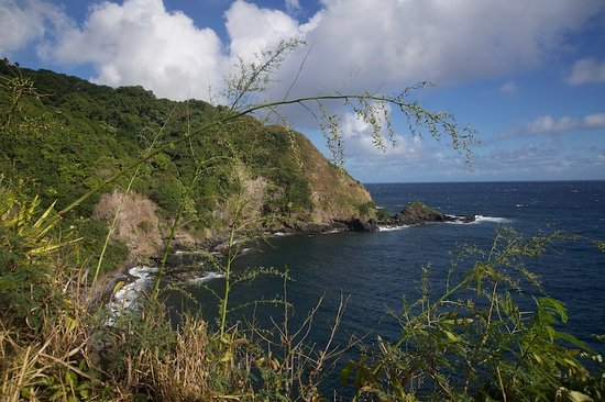 Hana Highway - Road to Hana: one of the overlooks on the road to Hana !