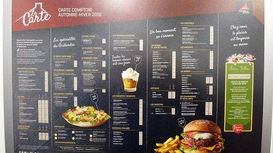Ibis Budget Limoges: la carte de tous les bons petits plats