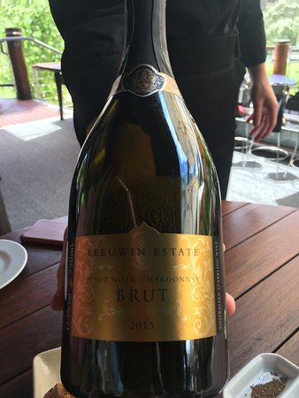 Started the lunch with a Brut.