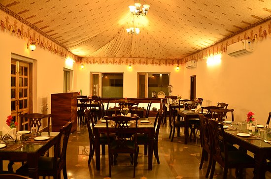 Interior of dining