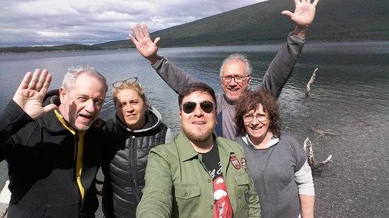 Lago Escondido, الأرجنتين: No importa el paisaje, no importa la excursión, nuestro objetivo es que te vayas con esta cara de Ushuaia! No matter the landscape, no matter the excursion, our goal is that you leave with this face of Ushuaia!