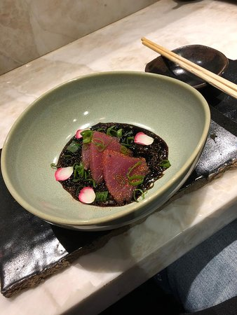 LIVING LOUNGE BAR & SUSHI: Atum com tarê