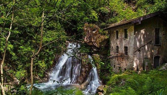 cascata del Rio Colmegnino