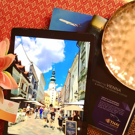 Fly THAI AIRWAYS to Vienna and explore Eastern Europe. Proud to be THAI, Salakanan Thai Massage & Spa.