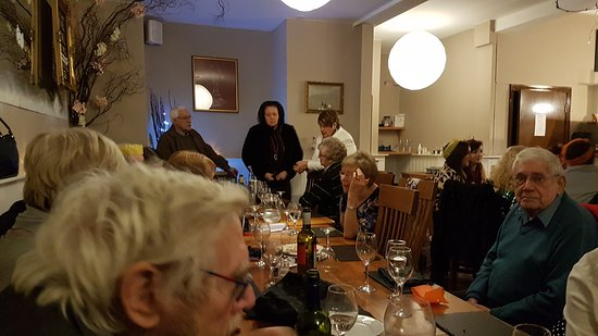 Baker's Brasserie: The Annual Christmas Oswestry Lions Club Meal on Saturday 15th December. Good Food Good Service & Good Company The Lions is the largest Service Organisation Worldwide