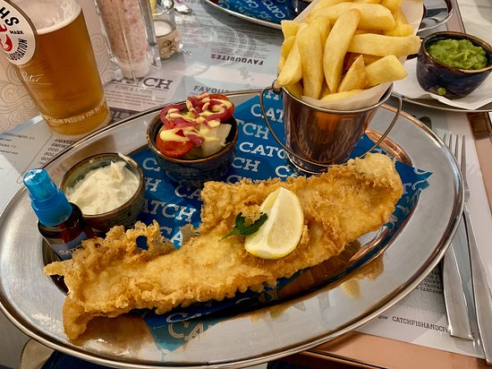 Catch Fish And Chips West End Glasgow Updated 2020