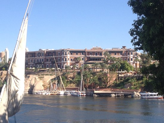 Sofitel Legend Old Cataract Aswan: View from the Nile