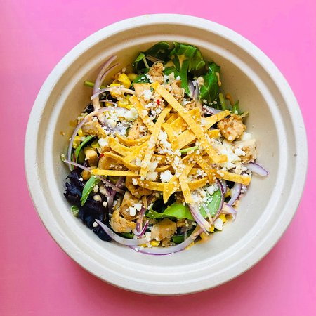 Want a healthier option? Try our salad bowls! We have them in 5 flavors! Carne Asada, Asian Chicken, Al Pastor, Short Rib and Veggie too! Truly satisfying and healthy at Cantina Bella!