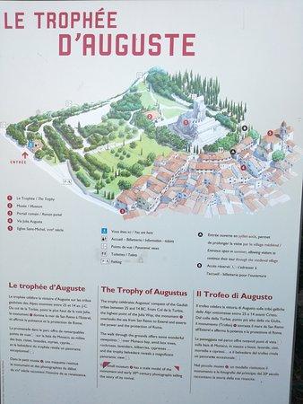 Trophee d'Auguste: il monumento della conquista della Gallia e dei popoli delle Alpi