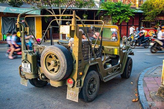 Hue Adventures - Motorbike & Jeep Tours : the jeep!