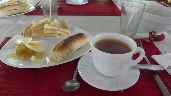Petit-déjeuner très bien