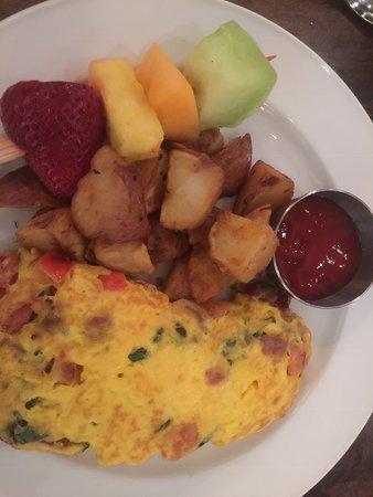 Delicious breakfasts.