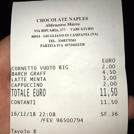Chocolate Naples