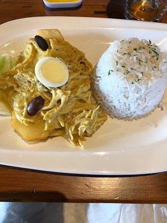 Aji de Gallina (comfort food)