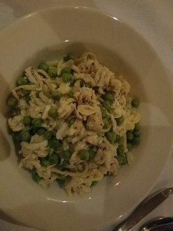 Linguine with Nc Lump Blue Crab - not good