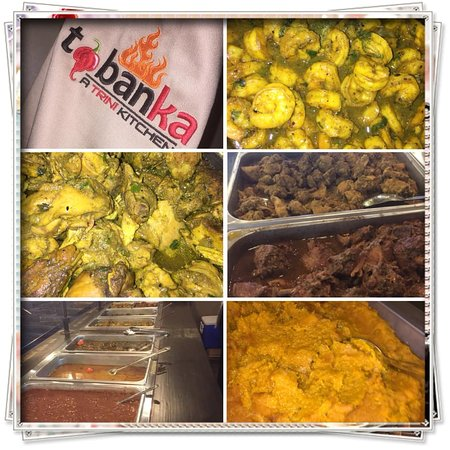 North Lauderdale, FL: Curry Shrimp, Curry Chicken, Curry Goat, Trini Stew Chicken Pumpkin, Red Beans, Dhal