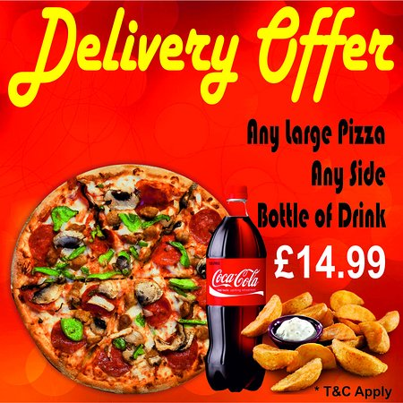 Delivery Offer £14.99