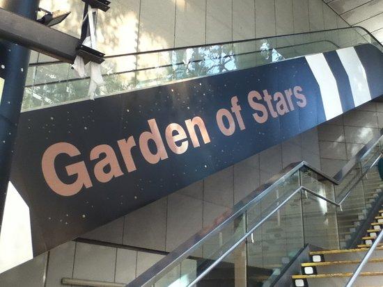 Garden of Stars: 入口付近
