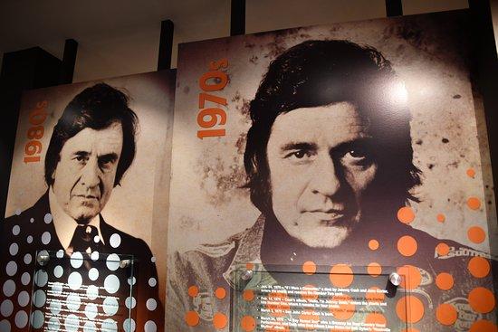 Inside Johnny Cash Museum