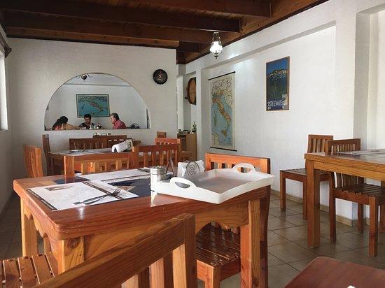 Trattoria Val D'aosta: Comedor