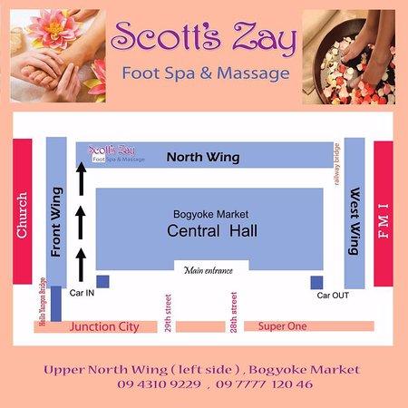 Scott's Zay Foot Spa & Massage