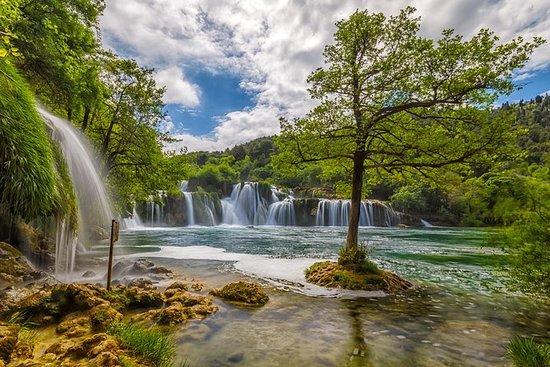 Excursão diruna das cachoeiras Krka e...