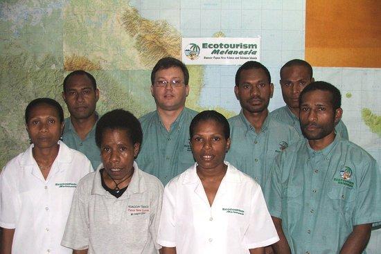 Port Moresby, Papua New Guinea: Ecotourism Melanesia - some of our staff family