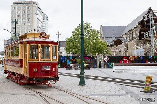 Akaroa Landausflug: Christchurch...