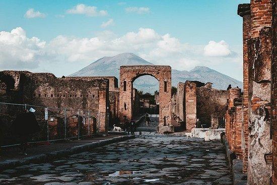 Pompeii og Mount Vesuvius dagstur fra...