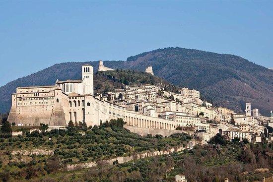 Cata de vinos en Asís y Perugia...