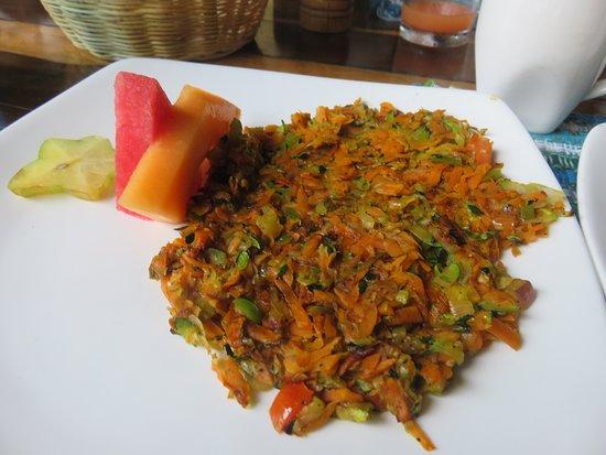 Black Rock Lodge: Veggie hash for breakfast