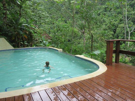 Black Rock Lodge: Small, unheated pool
