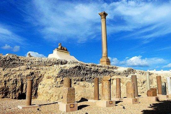 Alexandrië 1 dag vanuit Cairo met de ...