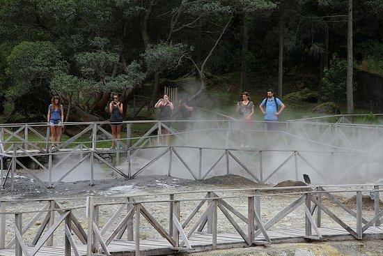 Excursion en bord de mer - volcan et...