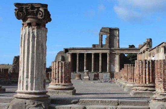 Semi private half day in Pompeii from...